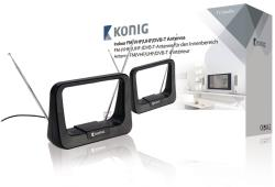 König ANT 116-KN FM/VHF/UHF/DVB-T-binnenantenne 5 - 7 dB