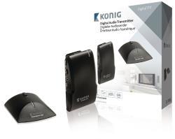 König VID-TRANS240KN 34-kanaals draagbare digitale audio-ontvanger