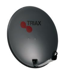 Triax 120711 TDS 78 stalen satelliet schotel verpakt RAL 7016
