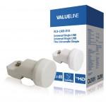 Valueline VLS-LNB-S10 Universele single LNB voor 1 TV 0.3 dB