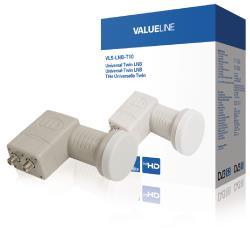 Valueline VLS-LNB-T10 Universele twin LNB voor 2x TV 0.3 dB