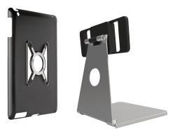 Omnimount 33-402-227 Steun voor iPad Air, steun en houder zilver met zwart