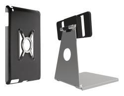 Omnimount 33-403-227 Steun voor iPad Mini, steun en houder zilver met zwart