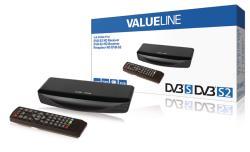 Valueline VLS-DVBS2-FTA1 DVB-S2 Full HD ontvanger 1080p HDMI PVR