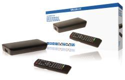 Valueline VLS-DVBT2-FTA1 DVB-T2 HD-ontvanger 1080p SCART en HDMI-uitgang PVR