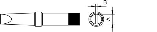 Weller 4PTA8 PT B7 soldeerpunt