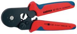 Knipex 97 53 14 SB Zelfinstellende krimptang voor adereindhulzen