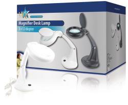 HQ MAG-LAMP3W Tafelmodel loeplamp 3 W wit