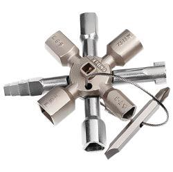 Knipex 001101 TwinKey voor alle standaard schakelkasten en afsluitsystemen