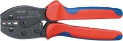 Knipex 97 52 35 SB Crimping pliers Non-insulated, open plug connectors (4.8 + 6.3 mm) 0.5...6.0 mm²