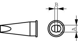 Weller LHT-D Soldeerstift Beitel gevormd 4.7 mm