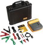 Fluke FLUKE 1555/KIT Insulationtester 10 kV 2 TOhm 250 VDC/500 VDC/1000 VDC/2500 VDC/5000 VDC/10000 VDC 660 VAC