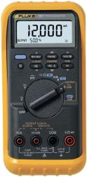 Fluke FLUKE 787/E Process Multimeter, TRMS AC, LCD/Backlit, 1000 VAC, 1000 VDC, 1 ADC