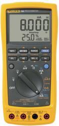 Fluke FLUKE 789/E Process Multimeter, TRMS AC, LCD/Backlit, 1000 VAC, 1000 VDC, 1 ADC