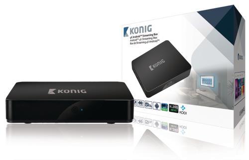 KN-4KASB 4K Android streaming box 4K 3D 5G Wi-Fi