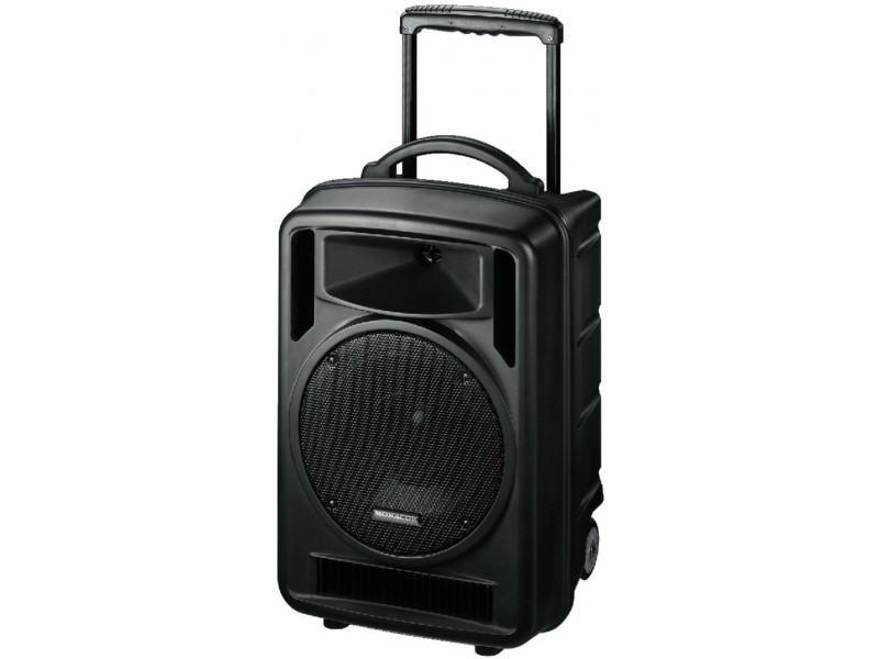 Monacor TXA-1000CD Portable versterker systeem met microfoon