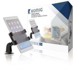König KNM-FCTM11 Universele tablet houder auto 360° 140 - 240 mm