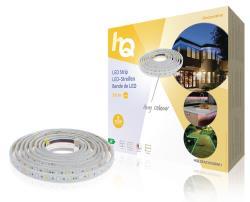 HQ HQLSEASYRGBWI1 LED-strip, eenvoudige installatie, RGB + W, binnen en buiten, 60 LED's p/m, 3,00 m