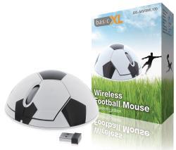 basicXL BXL-MSFBWL100 Draadloze voetbalmuis supporterseditie