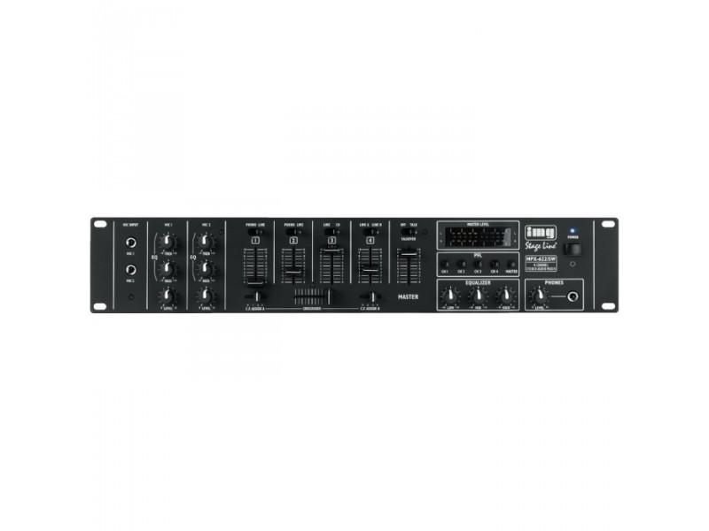IMG Stage Line MPX-622/SW 6-kanaals rack mixer