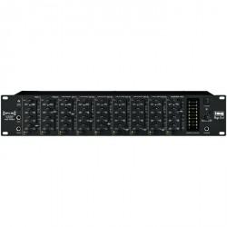 IMG Stage Line MPX-80 8-kanaals rack mixer
