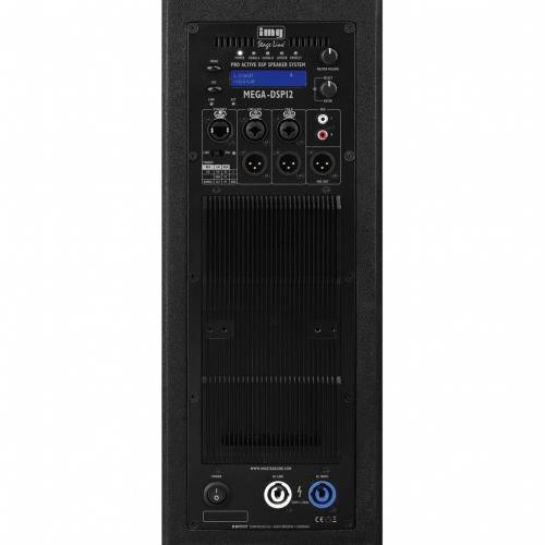 IMG Stage Line MEGA-DSP12 actieve fullrange met DSP-processor achterkant