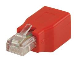Valueline VLCP89250R RJ45 CAT5 crossover adapter
