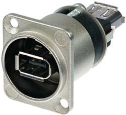 Neutrik NA1394-6-W Firewire Device Socket