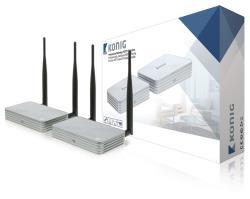 König KN-WLHDMI20 Professionele draadloze HDTV-oplossing HDMIT (met 3D) 1080p