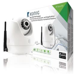 König SAS-IPCAM111W IP P2P camera pan-tilt wit