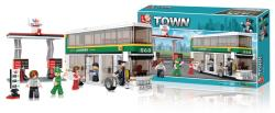 Sluban M38-B0331 Building Blocks Town Series Double-Decker Bus