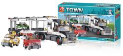 Sluban M38-B0339 Building Blocks Formula 1 Series Car Transporter