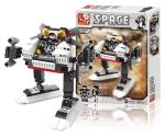 Sluban M38-B0336A Building Blocks Space Series Space 3-in-1 A