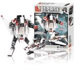 Sluban M38-B0336C Building Blocks Space Series Space 3-in-1 C