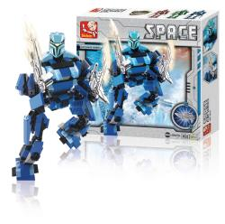 Sluban M38-B0215 Building Blocks Space Series Ultimate Robot Poseidon