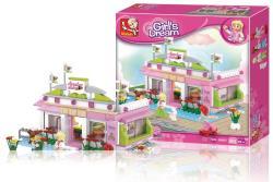 Sluban M38-B0519 Building Blocks Girls Dream Series Fountain