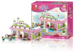 Sluban M38-B0527 Building Blocks Girls Dream Series Snooker Club