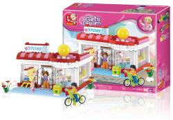 Sluban M38-B0529 Building Blocks Girls Dream Series Supermarket
