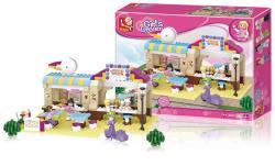 Sluban M38-B0530 Building Blocks Girls Dream Series Restaurant