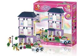 Sluban M38-B0531 Building Blocks Girls Dream Series Hotel