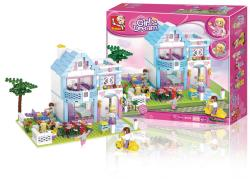 Sluban M38-B0535 Building Blocks Girls Dream Series Family House