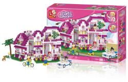 Sluban M38-B0536 Building Blocks Girls Dream Series Large Villa
