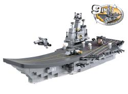 Sluban M38-B0537 Building Blocks Aircraft Carrier Series 9-in-1 Aircraft Carrier