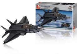 Sluban M38-B0510 Building Blocks Army Series Fighter Jet