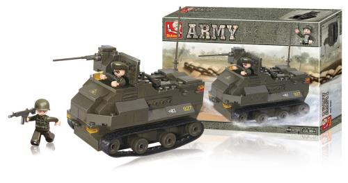 M38-B0281 Building Blocks Army Series Armoured Vehicle