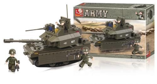 M38-B0287 Building Blocks Army Series Tank