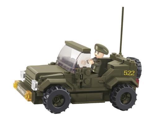 M38-B0296 Building Blocks Army Series Jeep