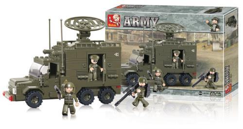M38-B0300 Building Blocks Army Series Radar Truck