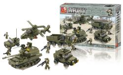 Sluban M38-B0311 Building Blocks Army Series Land Forces
