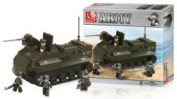 Sluban M38-B6300 Building Blocks Army Series Armoured Vehicle